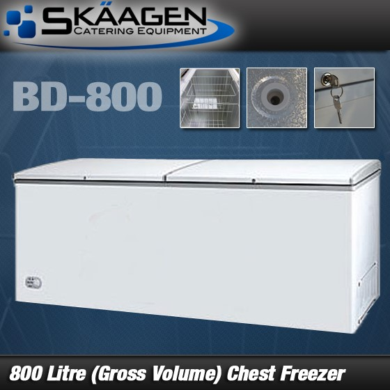 Unused BD-800 Chest Freezer
