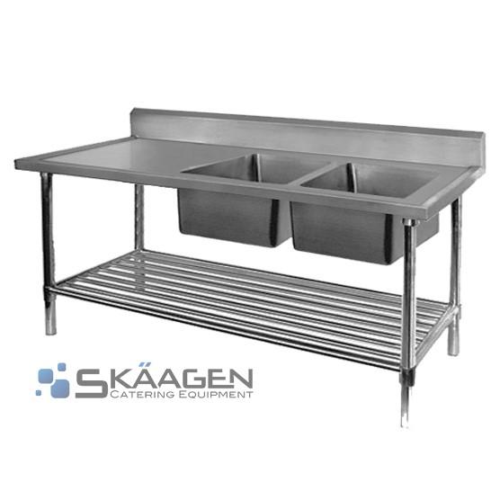 Unused S/S Sink 1500 x 600 - FSA-2-1500R