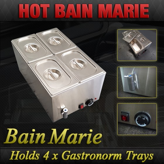 Unused Hot Bain Marie - 8710.1.4