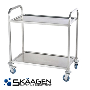 Unused Stainless Food Trolley (small)
