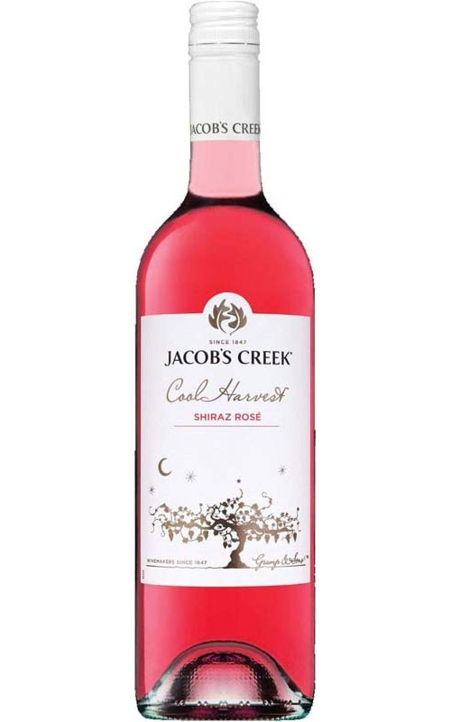 Jacob's Creek 'Cool Harvest' Shiraz Rose 2018 (6 x 750mL) SE AUS.