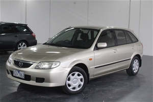 2003 mazda 323 astina bj manual hatchback auction 0001 3433909 graysonline australia. Black Bedroom Furniture Sets. Home Design Ideas