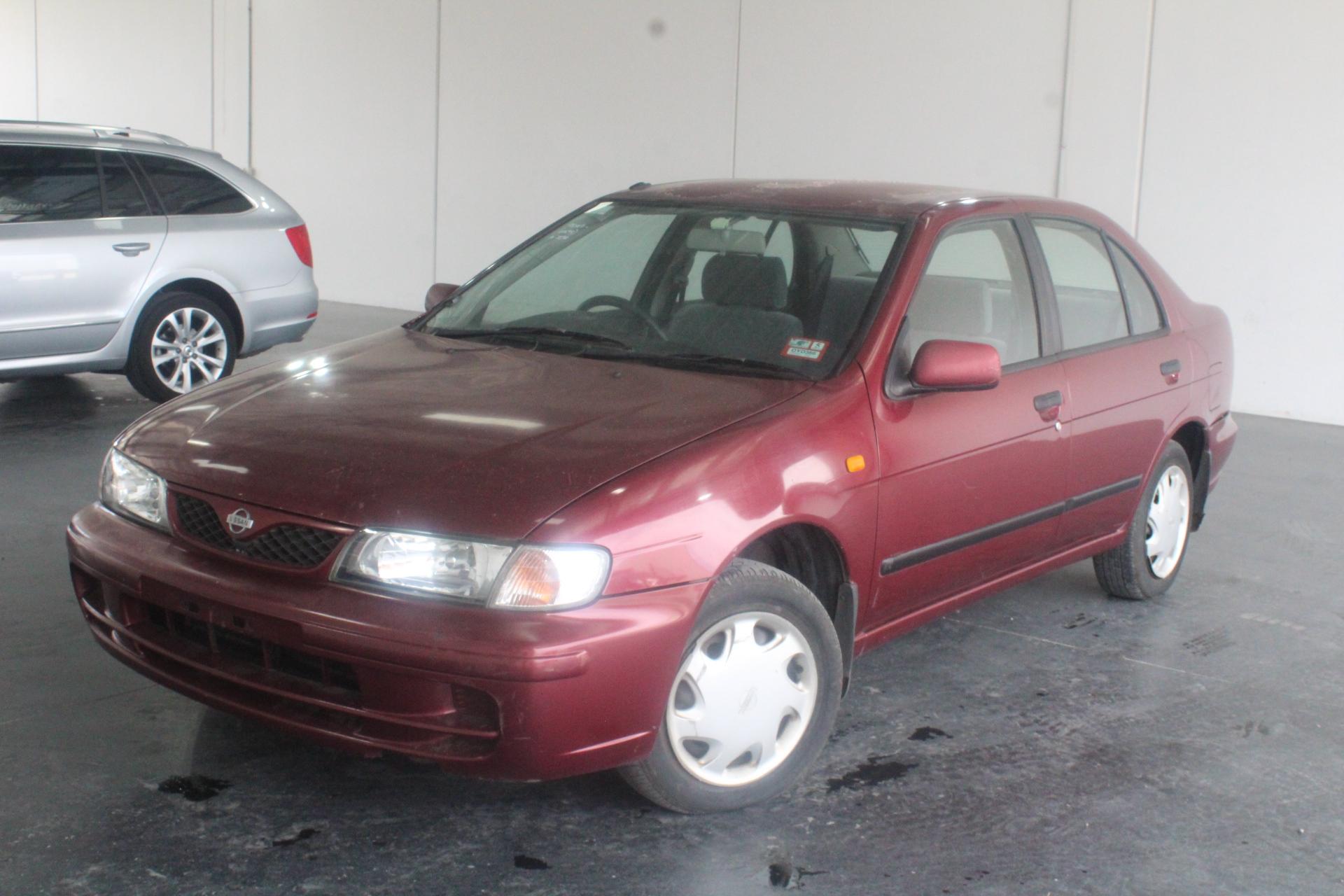 1998 Nissan Pulsar LX N15 Manual Sedan Auction (0001-3433997)   GraysOnline  Australia