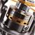 Fishing Reel Gear Ratio 5.1:1 Ball Bearing 10, Line Capacity 0.22/200, 0.25