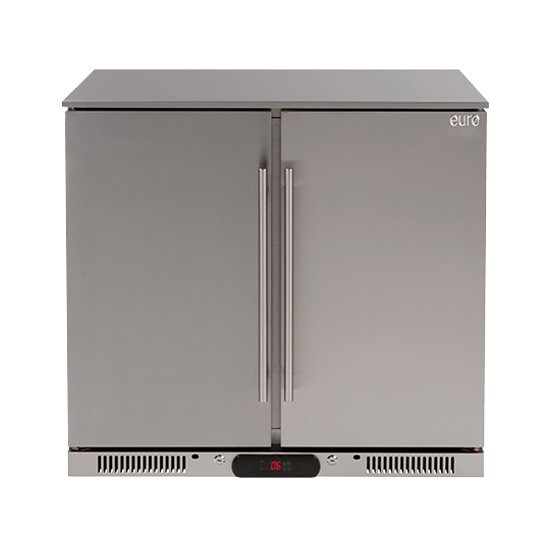 Euro 208 litre Double Door Beverage Cooler, Model: EA90SDSX