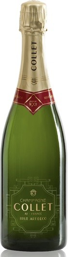 Collet Brut `Art Deco` Champagne NV (6 x 750mL), France.