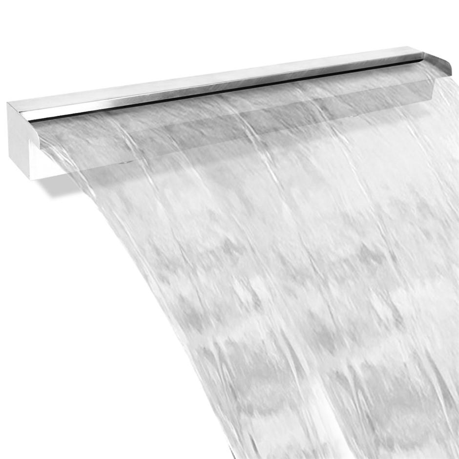 Gardeon Stainless Steel Waterfall Feature - 120CM