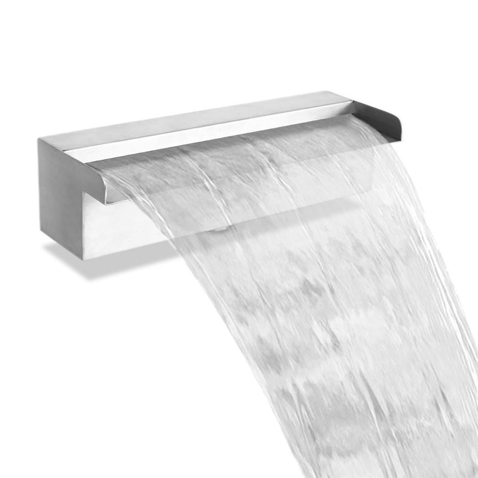 Gardeon Stainless Steel Waterfall Feature - 30CM