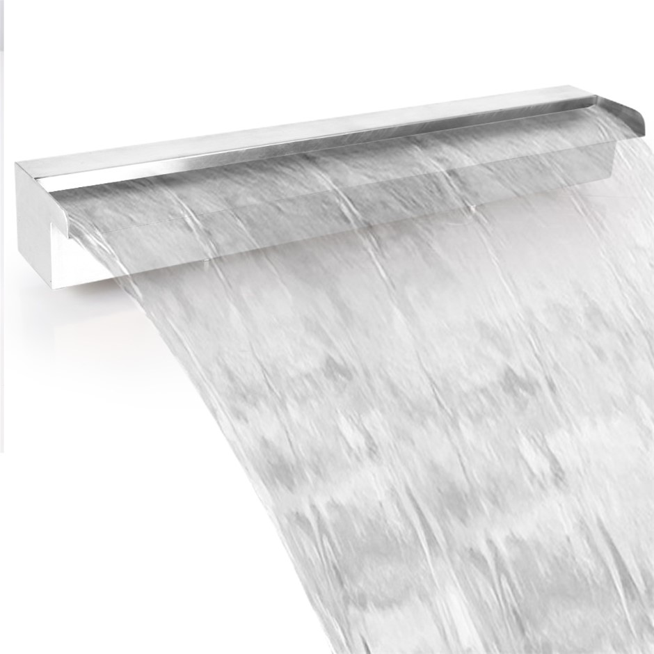 Gardeon Stainless Steel Waterfall Feature - 90CM