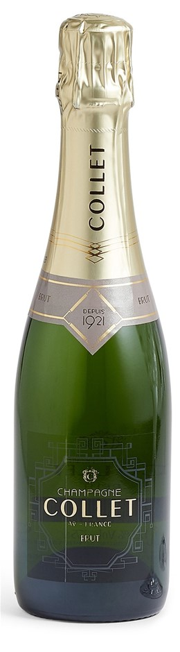 Collet Champagne Brut NV (12 x 375mL Half bottle), France.