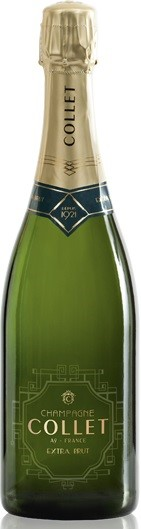 Collet Champagne Extra Brut NV (6 x 750mL), France.