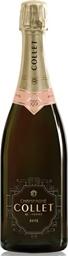 Collet Champagne Brut Rose NV (6 x 750mL), France.