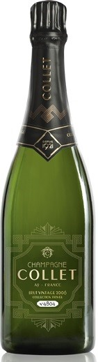 Collet Champagne Brut Vintage 2008 (6 x 750mL), France.