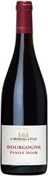 J. Moreau & Fils Bourgogne Pinot Noir 2016 (12 x 750mL), France.
