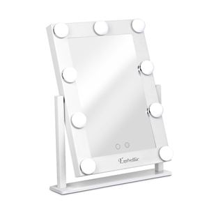 Embellir LED Standing Makeup Mirror - Wh