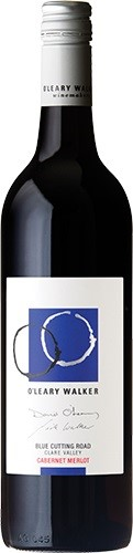 O'Leary Walker Blue Cutting Rd Cabernet Merlot 2016 (6x750mL), Clare Valley