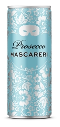 Mascareri Prosecco NV  (24 x 250mL Cans), Italy.