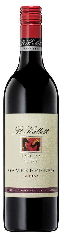 St Hallett 'Gamekeeper's' Shiraz 2018 (6 x 750mL), Barossa, SA.