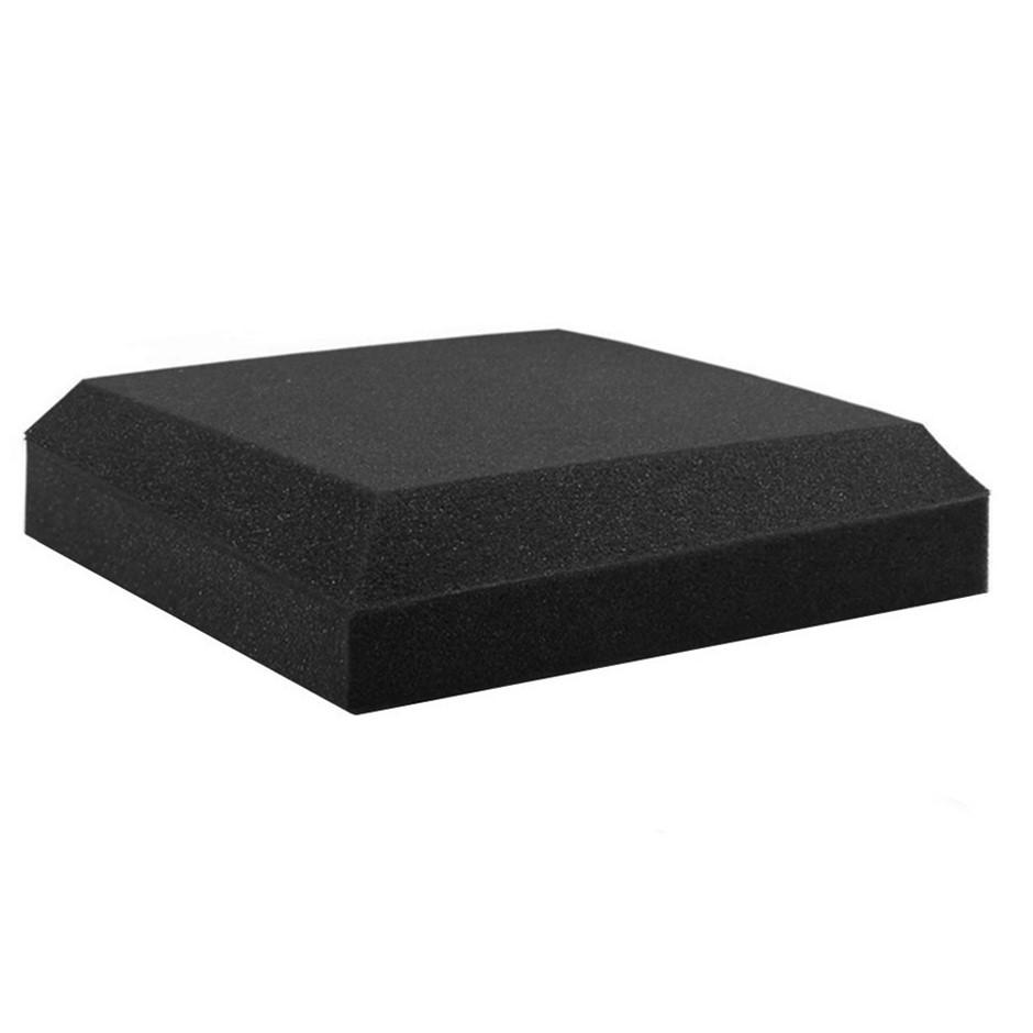Set of 20 Flat Ceiling Acoustic Foam - Black