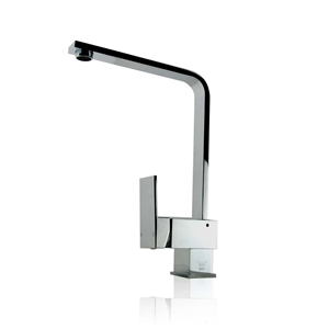 Square Standard Chrome Kitchen Sink Mixe
