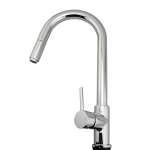Chrome Pull Out Kitchen Mixer Sink TAP F