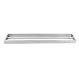 Square Chrome 304 Stainless Steel Double