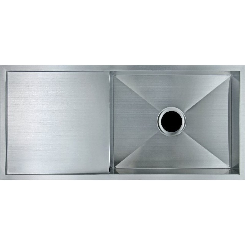 Stainless Steel Hand-made Single Kitchen Sink - 960x450x230 304