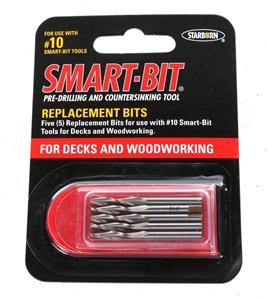 10 x Packs of 5 SMART-BIT Pre-Drilling B