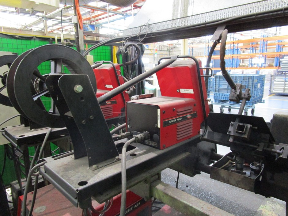 Lincoln Powerwave 455 MIG Welding Station Auction (0102 ...