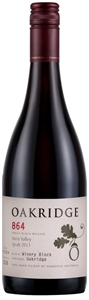 Oakridge 864 Syrah 2013 (6 x 750mL), Yar