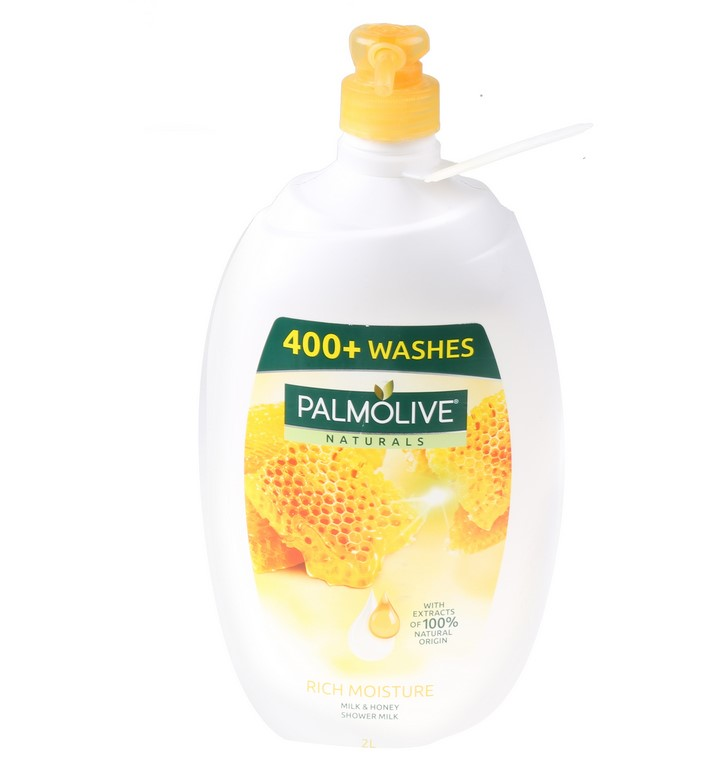 PALMOLIVE Milk & Honey Shower Milk, 2L (SN:CC26607) (266643-168)