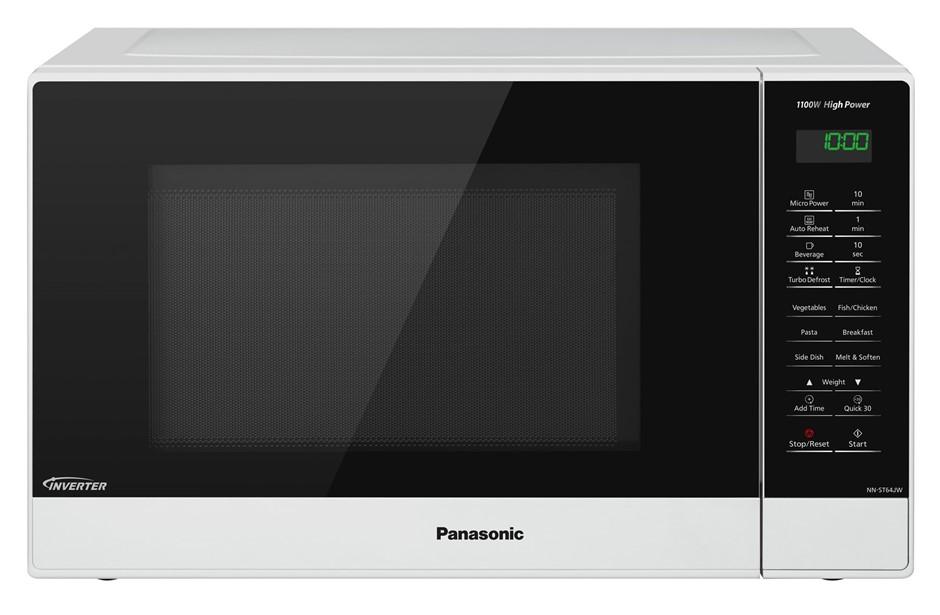Panasonic NN-ST64JWQPQ 32L Compact Inverter Microwave Oven 1100W