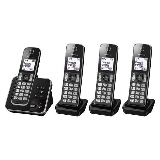 Panasonic KX-TGD324ALB Phone With Answering Machine