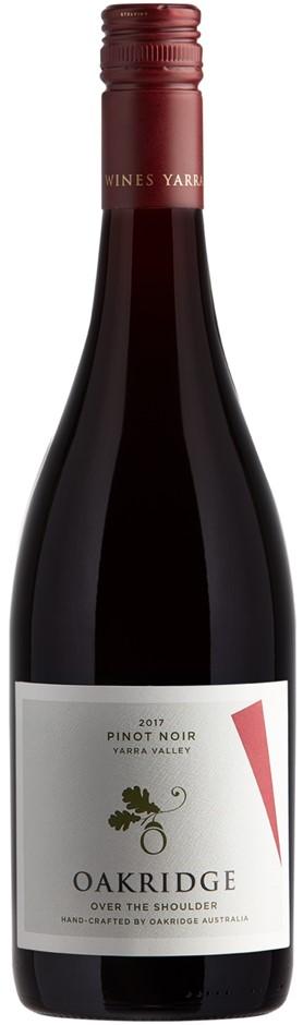 Oakridge Over the Shoulder Pinot Noir 2018 (6 x 750mL), Yarra Valley, VIC.