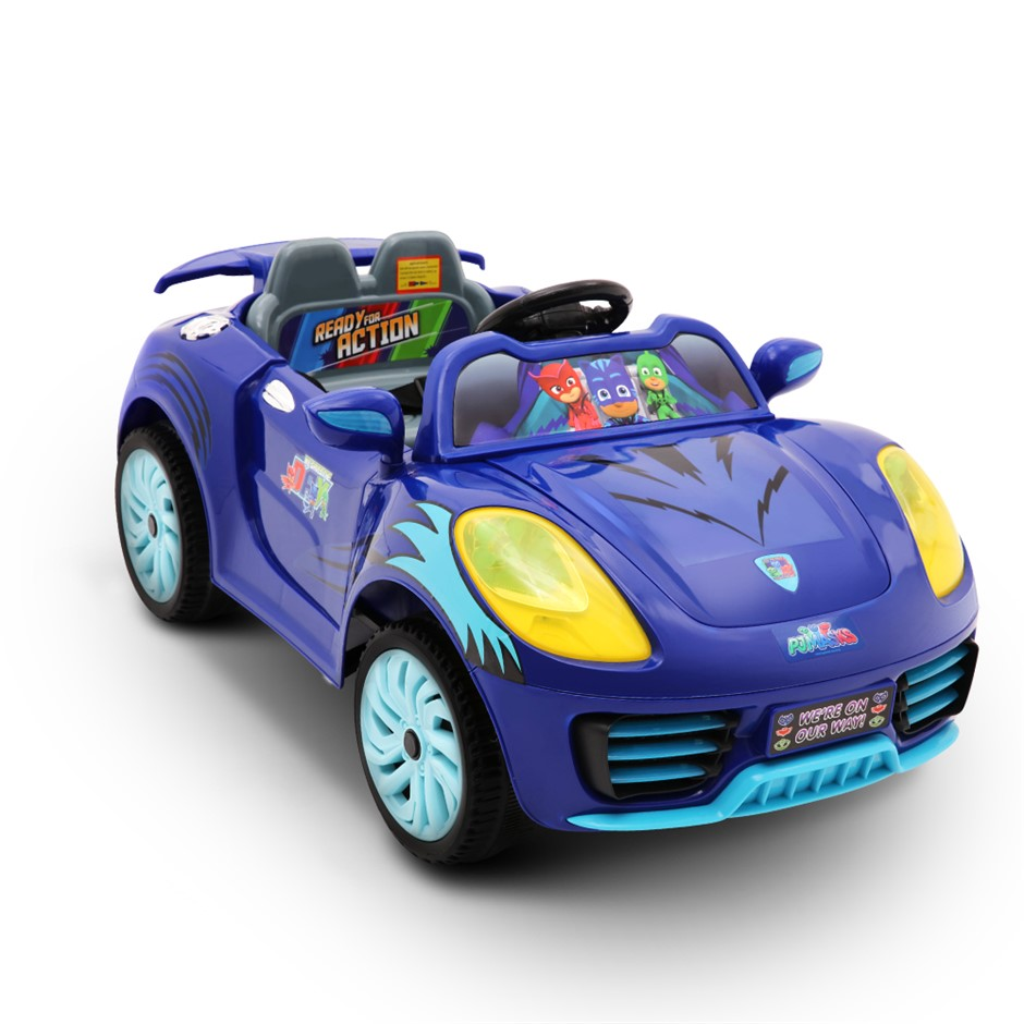 Rigo Kids RideOn Car Electric PJ Masks Cat Car Vehicle Children Toy Battery