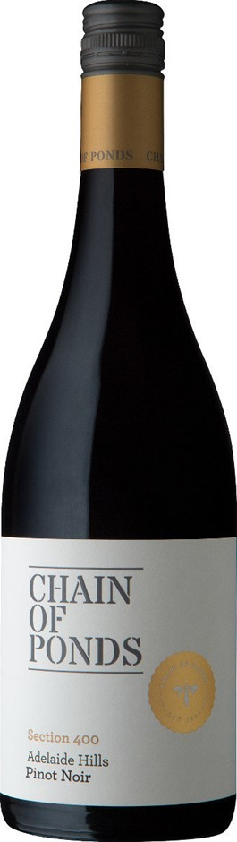 Chain of Ponds `Section 400` Pinot Noir 2018 (12 x 750mL), Adelaide Hills.