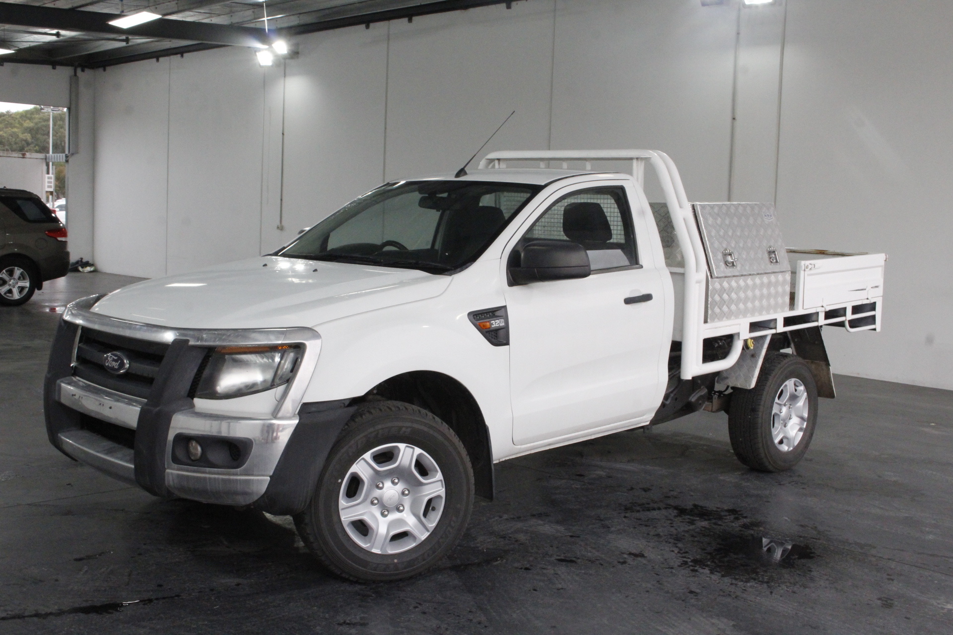 2012 ford ranger xl 3 2 4x4 px turbo diesel manual cab chassis