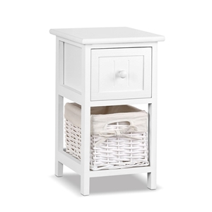 Artiss Set of 2 Claire Bedside Table - W