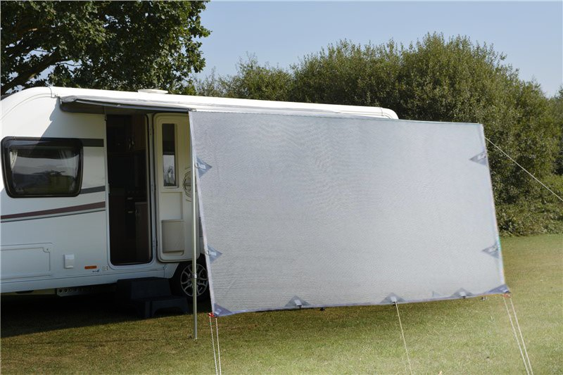3.4m Caravan Screen Side Sunscreen Sun Shade for 12' Awning
