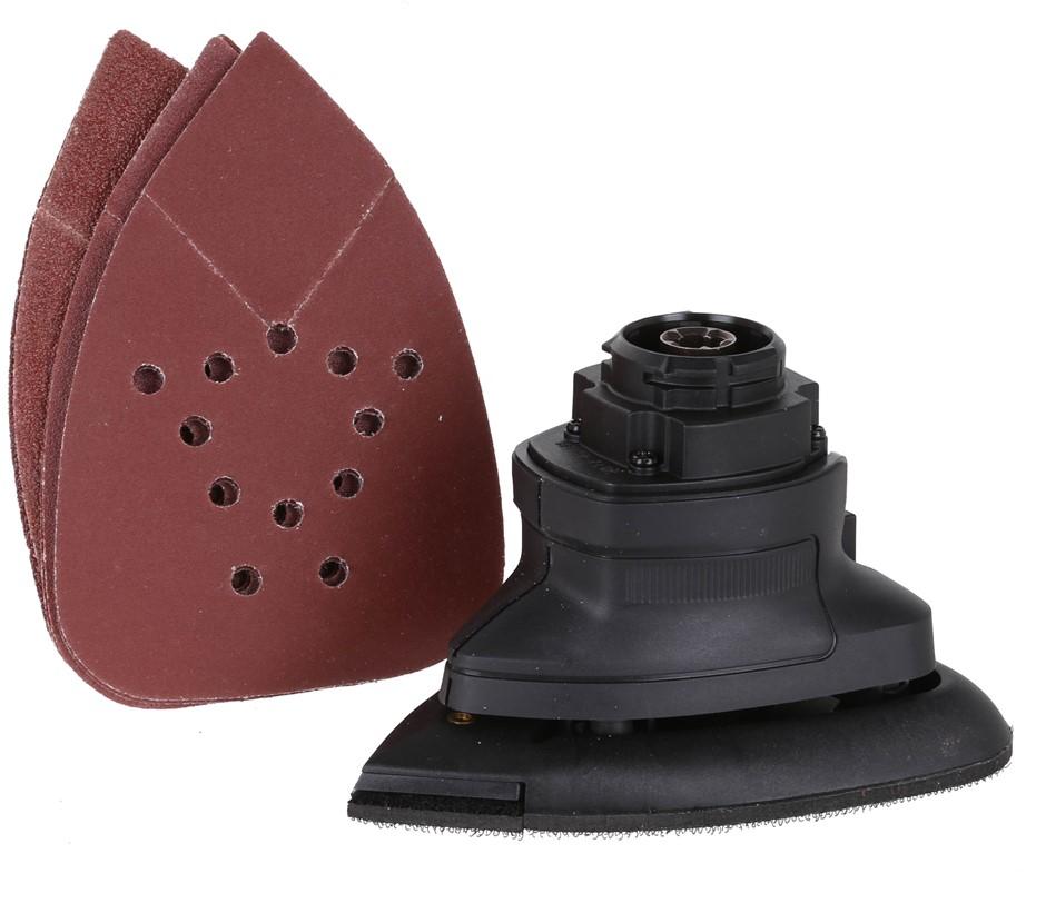 2 x BLACK & DECKER Detail Sanding Attachments, Quick Connect Suit 18V & 10.
