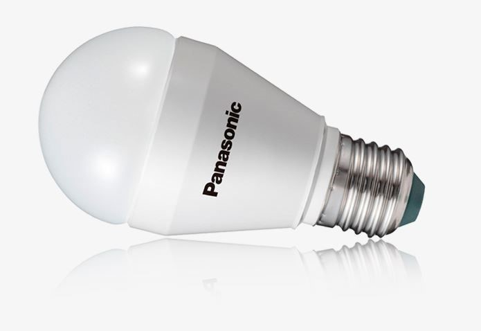 Panasonic 5.OW=33-40W 350lm Soft Warm 2700K LED Globe