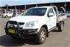2014 Holden Colorado 4X4 LX RG Turbo Diesel Manual Cab Chassis