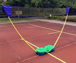 Folding Portable Badminton Combo Set Vol
