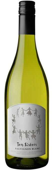 Ten Sisters Single Vineyard Sauvignon Blanc 2017 (12 x 750mL) Marlborough