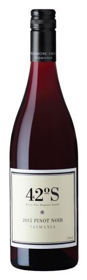 42 Degrees South Pinot Noir 2018 (12 x 750mL), TAS.