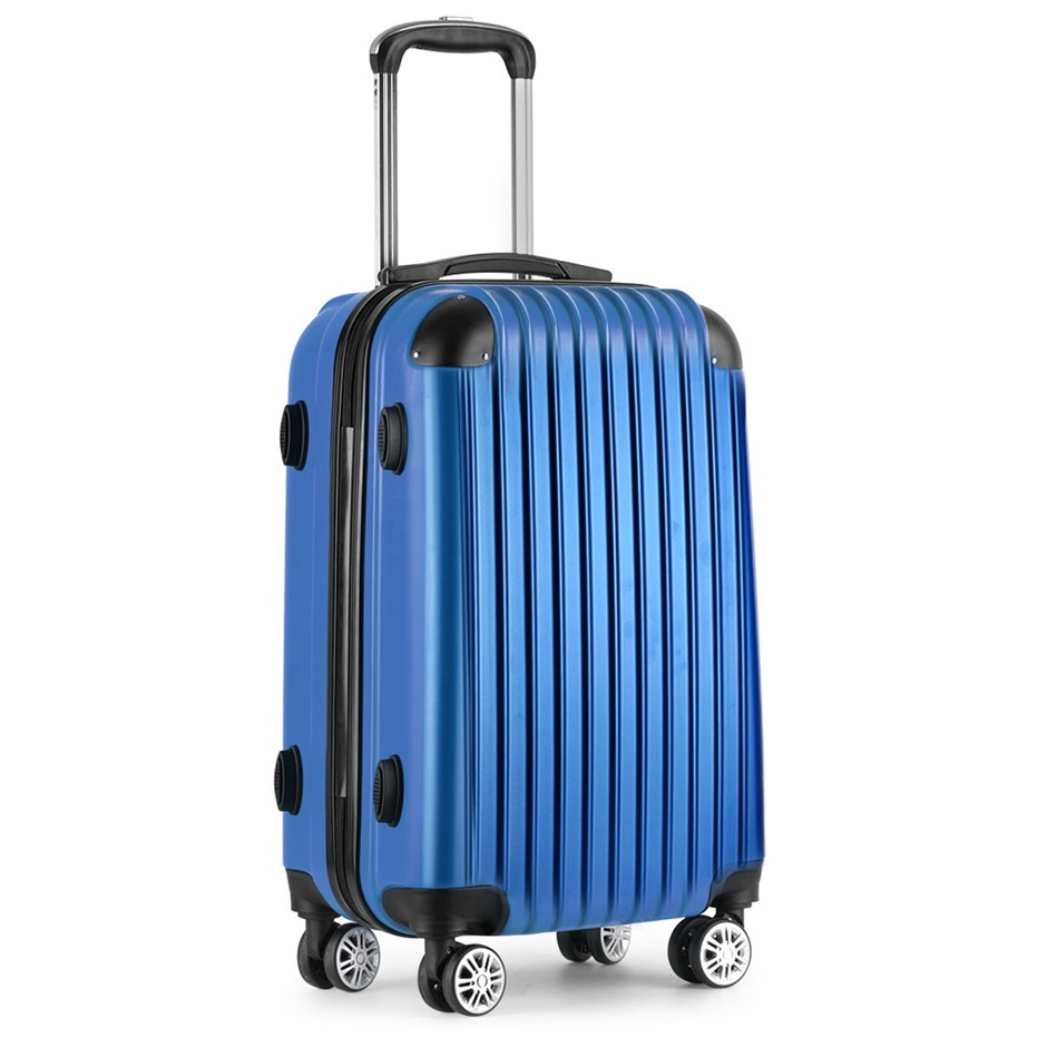 Wanderlite 20inch Lightweight Hard Suit Case - Blue