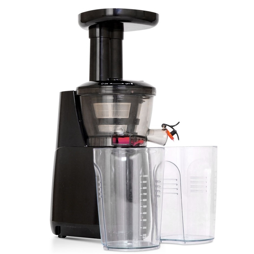 5 Star Chef High Yield Cold Press Slow Juicer Black