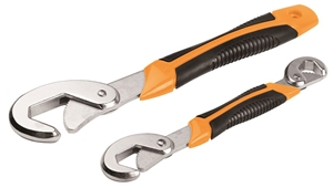 2 x TOLSEN 2pc Universal Wrenches, 9-32m