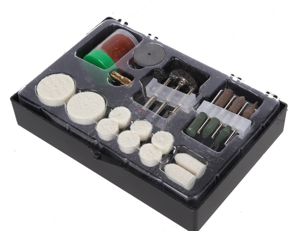 2 x VOREL 22pc Mini Grinder Accessory Sets. Buyers Note - Discount Freight
