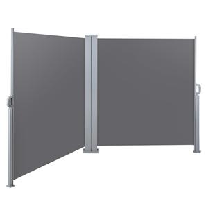 Instahut 1.8MX6M Retractable Double Side